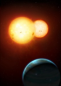Planets with twin-suns found