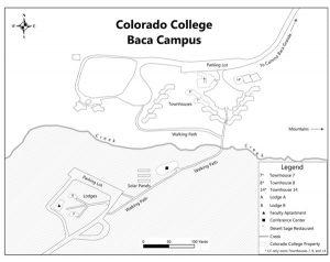 Colorado College Baca Detail map