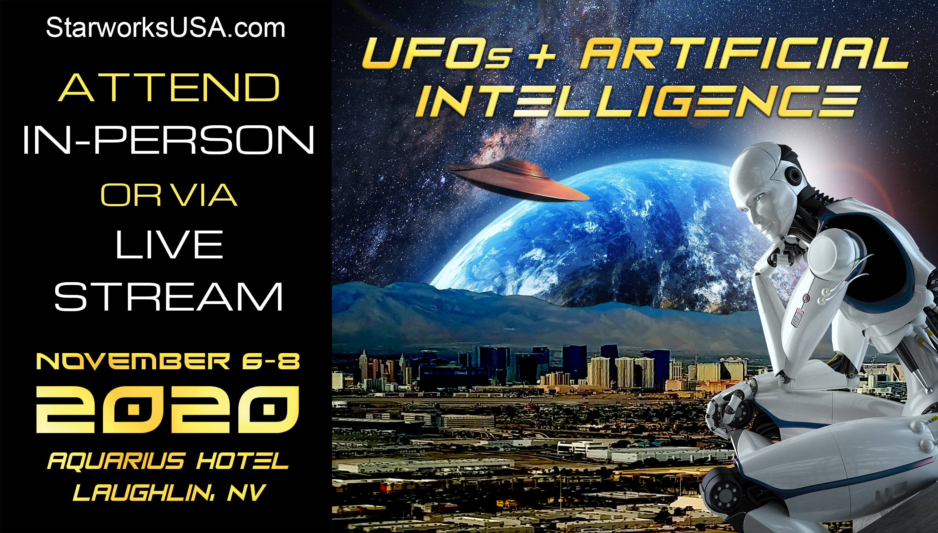UFOs and Artificial Intelligence - Laughlin Conference