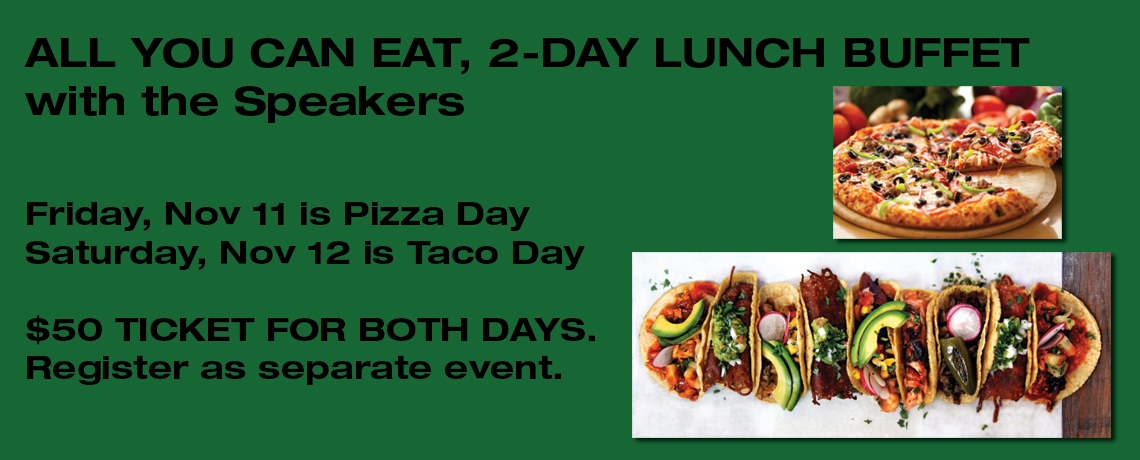 2-Day Lunch Buffet