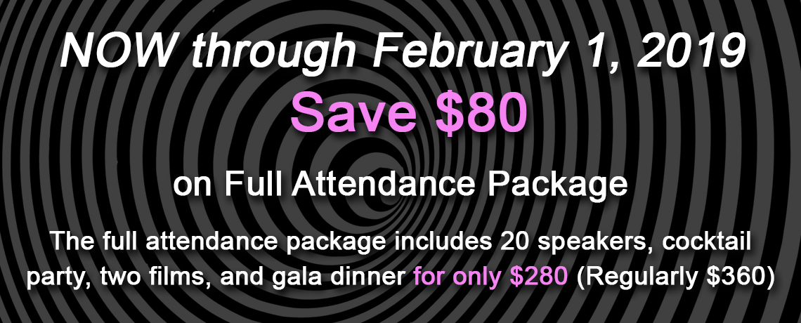 Save $80 on Full Attendance Package 2019