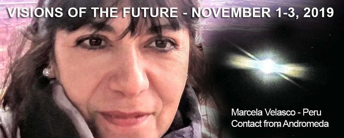 Marcela Velasco, PERU  Contact from Andromeda