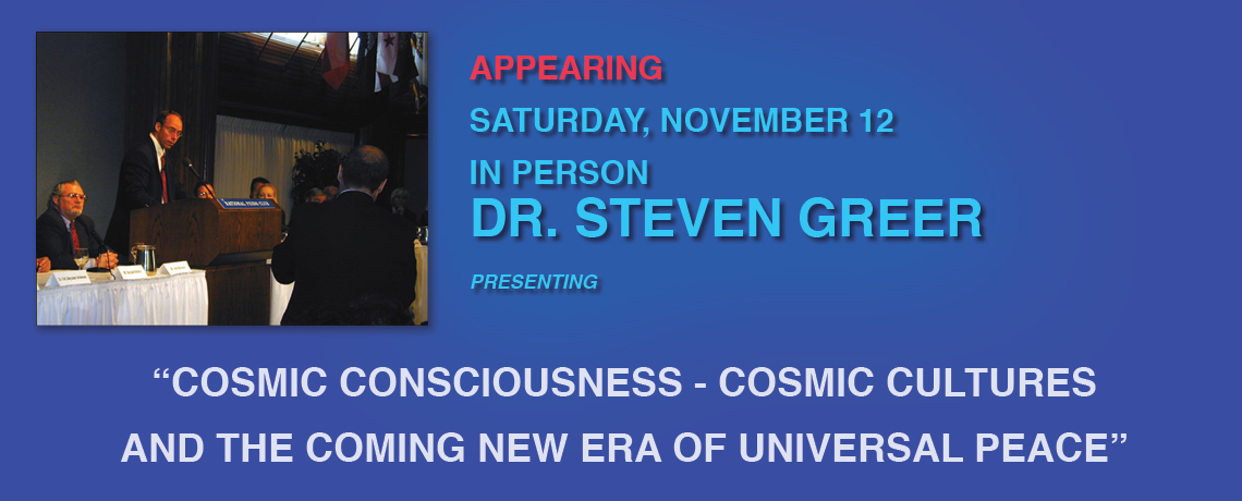 Dr. Steven Greer at Laughlin UFO Symposium