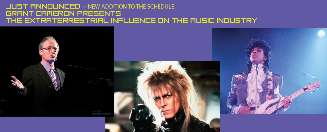 Grant Cameron: The Extraterrestrial Influence on the Music Industry at StarworksUSA 2016