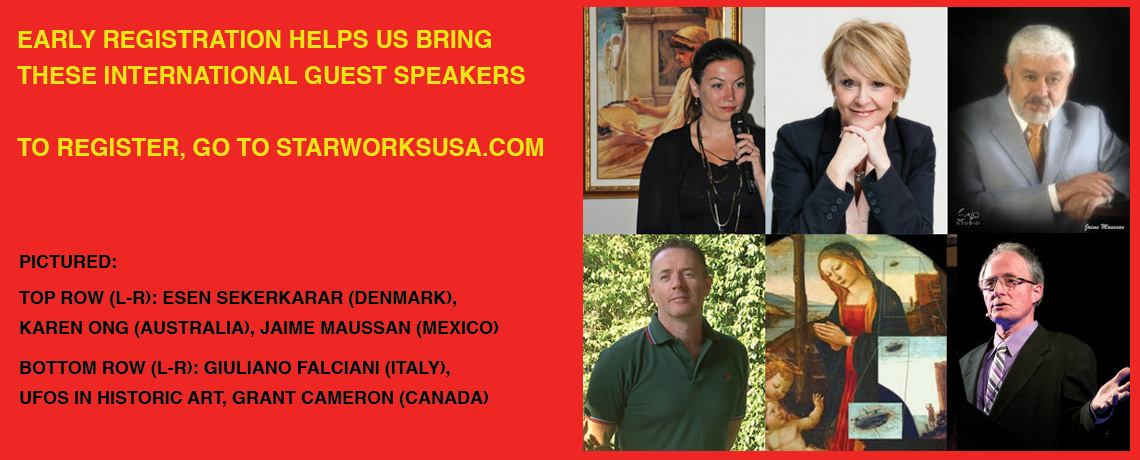 International Speakers at 2016 Laughlin UFO Symposium